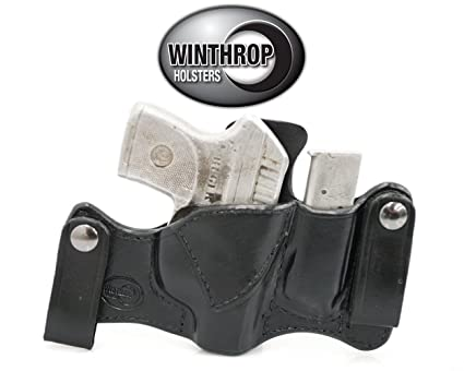 Amazon com : KelTec P32 IWB Dual Snap Holster Attached Mag NO Laser