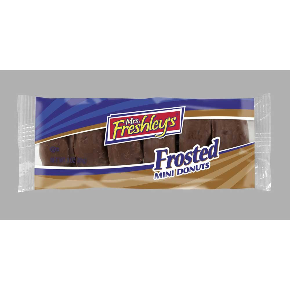Mrs Freshleys Chocolate Mini Donut, 3.3 Ounce -- 72 per case. by Mrs. Freshley's (Image #1)