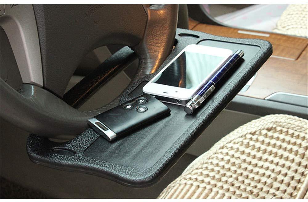 Portatile Portatile Per Auto Multifunzionale//Posto Per Mangiare Volante Vassoio Portatile Per Veicolo Nero Supporto Per Laptop//Ipad Tavolo Per Pranzare Banco Per Alimenti Per Auto