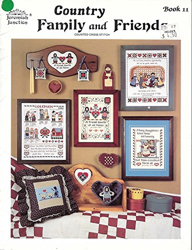 COUNTRY FAMILY AND FRIENDS Book 11 Jeremiah Junction Cross Stitch