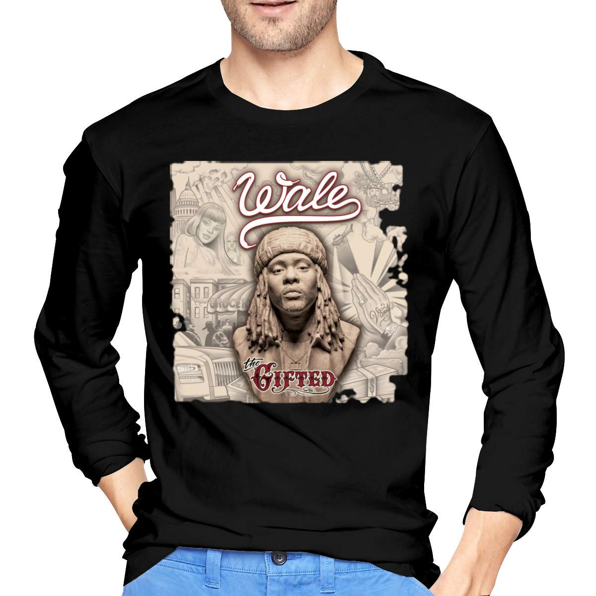 Fssatung S Wale The Gifted Tshirts Black