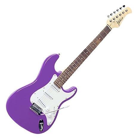 Generic Beginner - Guitarra Eléctrica, Color Morado