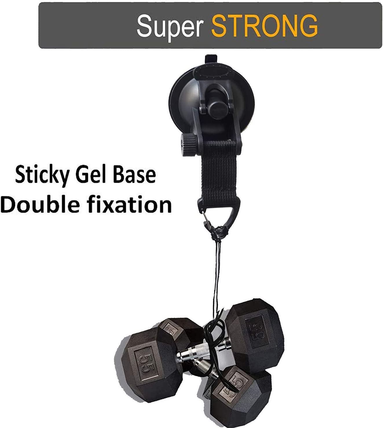 Hook Suction Cup,4pcs Multifunctional Super Suction Cup Suction Hook Suction CupTie for Car Mount Luggage Tarps Tents
