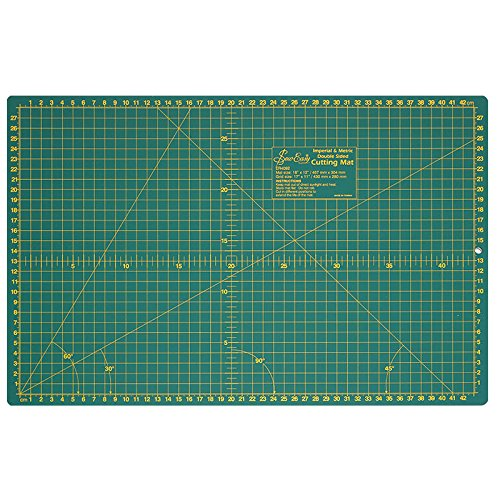 Sew Easy ER4092 | Cutting/Craft Mat With Printed Grid | 450 x 300mm by Sew Easy