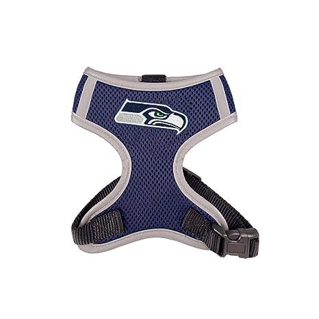 d59fa216d Amazon.com : NFL Seattle Seahawks Dog Harness Vest : Sports & Outdoors