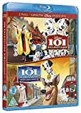101 Dalmatians (I and II) - Lady and the Tramp (I and II) - Walt Disney 2 Movie Bundling Blu-ray