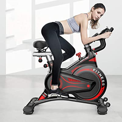 GAYBJ Home Weight Loss Exercise Bike Exercise Pedal Bike Upright Exercise Bike Indoor Studio Cycles Aerobic Training Fitness Cardio Bike: Home & Kitchen