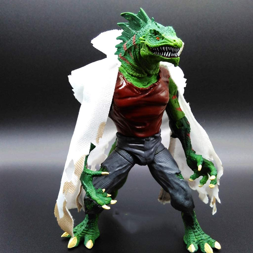 Llsdls Juguete Modelo Lizard Extraordinario Humano Conjunto Muñeco Muñeco Decoración Juguete