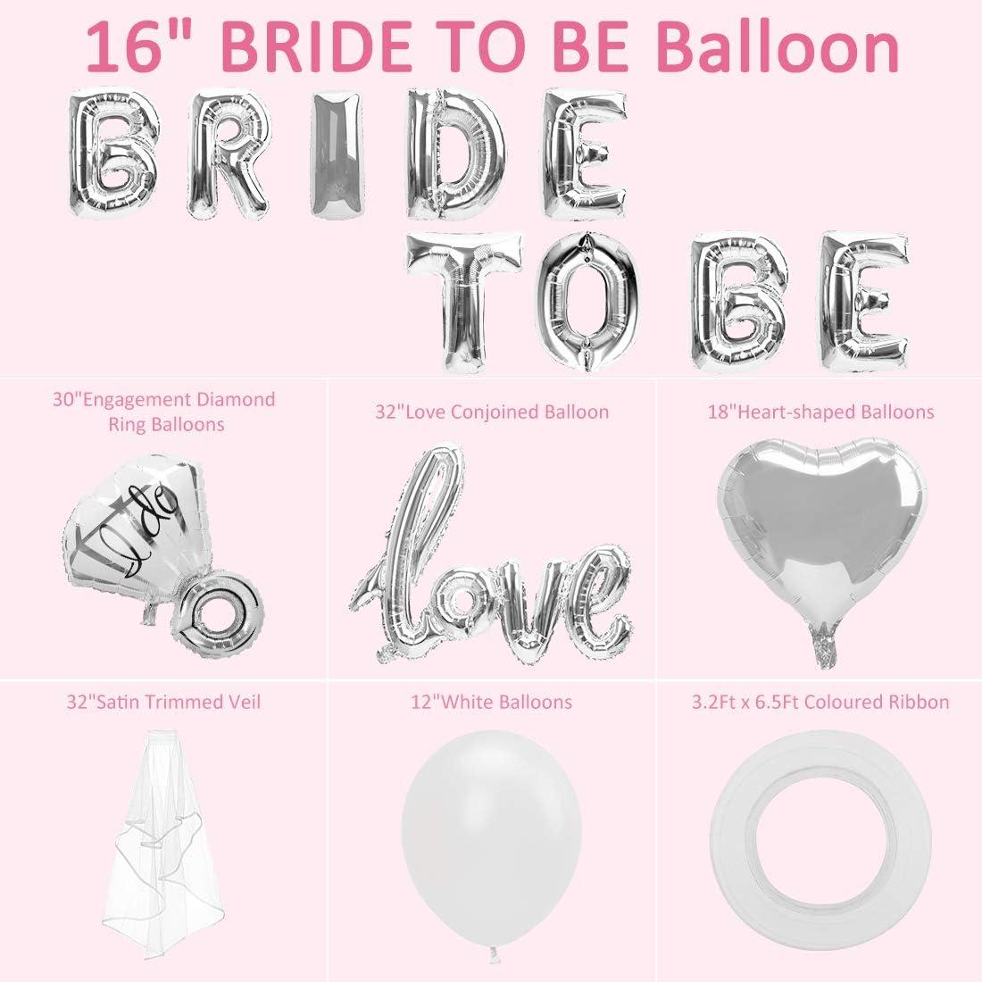 Wedding  Bachelorette Party Supplies Bride To Be Wedding Bridal Showe X