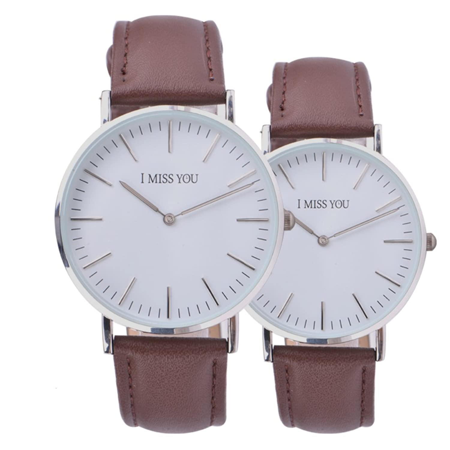 Couple Watches /超薄型防水時計/ Simpleクォーツwatch-d B06XJLCMHF