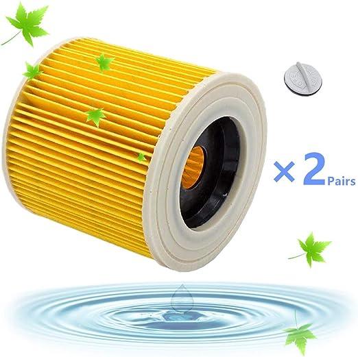 Filtros Lavables para Aspiradora Kärcher WD3 WD2 WD3.200 WD3300 ...