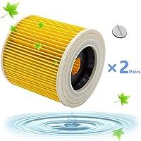 Filtros Lavables para Aspiradora Kärcher WD3 WD2 WD3.200