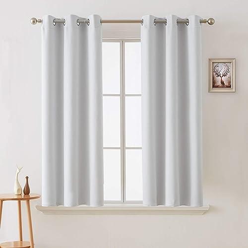 Flei Grommet Blackout Curtains 118x102inch
