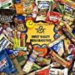 Sweet & Salty Ultimate 100 Count Care Package Snack Pack Boxed Variety Assortment Selection Cookies, Candy, Chips, Gum, Great for College, Military, Office, Thank you Gift Box
