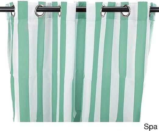 1Pieza 84 Spa cortinas de color de carpa solo Panel, interior Pergola Drapes porche, deck, patio