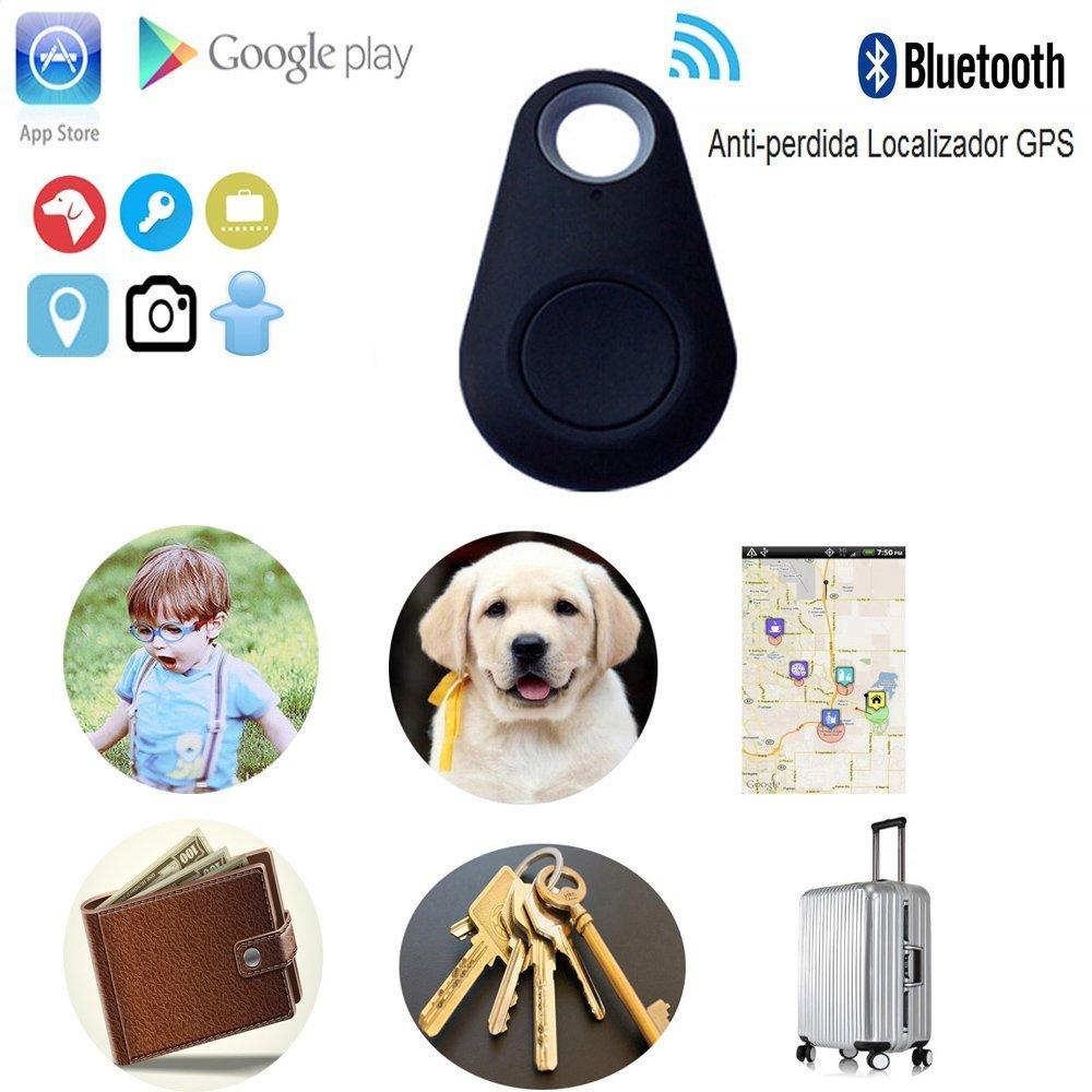 Proam Mobile Alarmanlage keyfinder Handy Diebstahlsicherung Kinder Smart Tracker Anti-verloren Alarm GPS Locator Schwarz