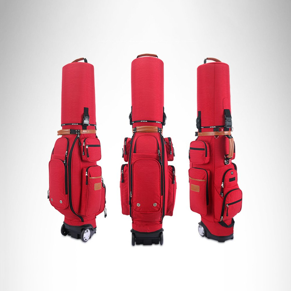 PGM Padded Travel Cover Bag With Wheels With coded lock----Free Send a Rain Cover (red) by PGM (Image #1)