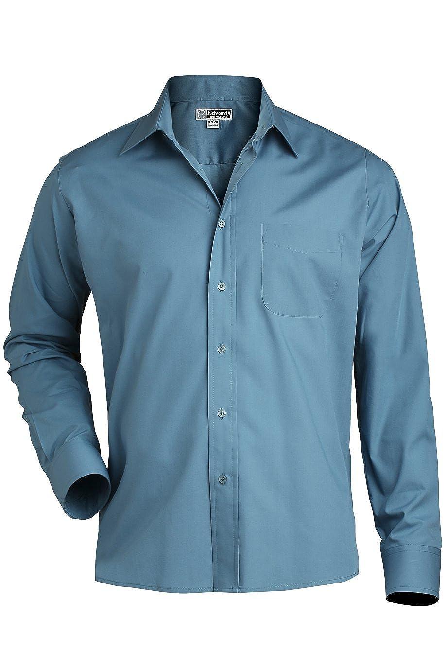 Slate Blue 6X L 35 Edwards MenS 1363 Performance Button Down Shirt