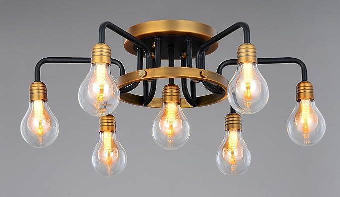 Diseño Vintage Creativo Lámpara de techo Iluminación de ...