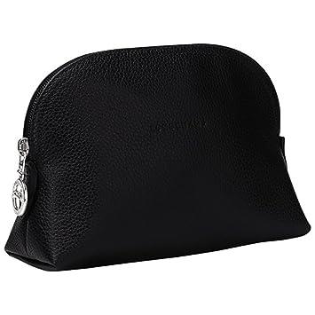 Longchamp Women\u0027s Le Foulonne Dome Cosmetic Case, Black, ...