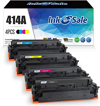 Black,Cyan,Magenta,Yellow , 4-Pack Super-Supply Compatible Toner Cartridge Replacement for HP 647A