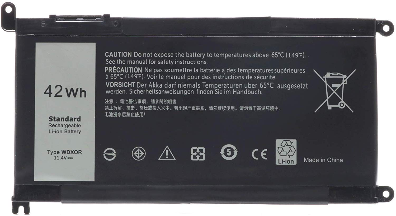 Ursulan WDX0R Laptop Battery for Dell Inspiron 13 5368 5378 5379 7368 7378 Inspiron 14-7460 Inspiron 15 5565 5567 5568 5578 7560 7570 7579 7569 Inspiron 5000 7000 17 5000 Series Laptop 3CRH3 T2JX4
