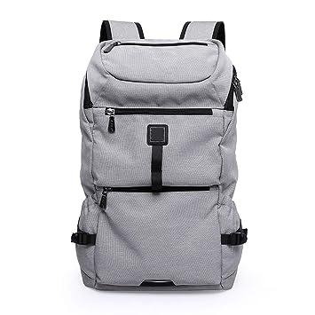 Huichao Mochila para Laptop, Mochila para Estudiantes universitarios de Gran Capacidad, Mochila de Viaje para Hombres y Mujeres, 20-35L,Gray: Amazon.es: ...