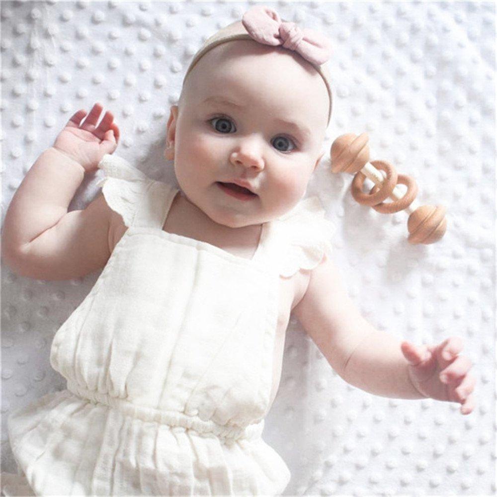 ViWorld Infant Baby Girl Twins Bodysuit Newborn Ruffles Romper Sunsuit Outfit Princess Clothes