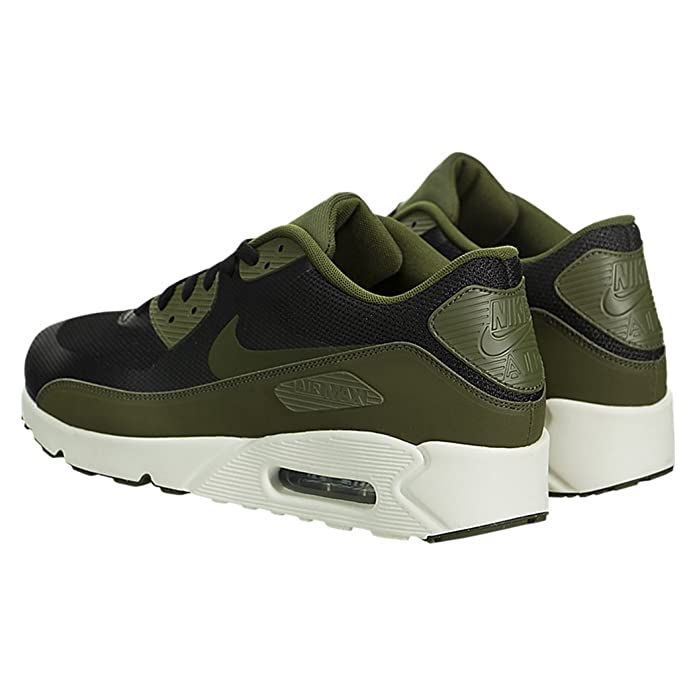 Nike Air Max 90 Essential, Baskets Mode Homme, VerdeNegro