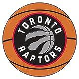 FANMATS NBA Toronto Raptors Nylon Face Basketball Rug