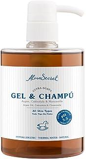 Alma Secret Gel-Champú suave con Argán, Caléndula & Manzanilla - 500 ml
