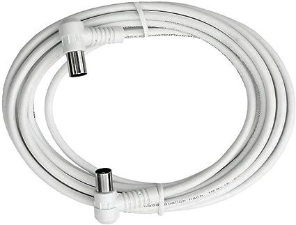 Axing Bak 253 00 Anschlusskabel Iec Koax Winkelstecker Elektronik
