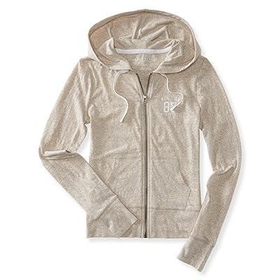 Aeropostale Womens 87 Ath Divs. Hoodie Sweatshirt: Clothing