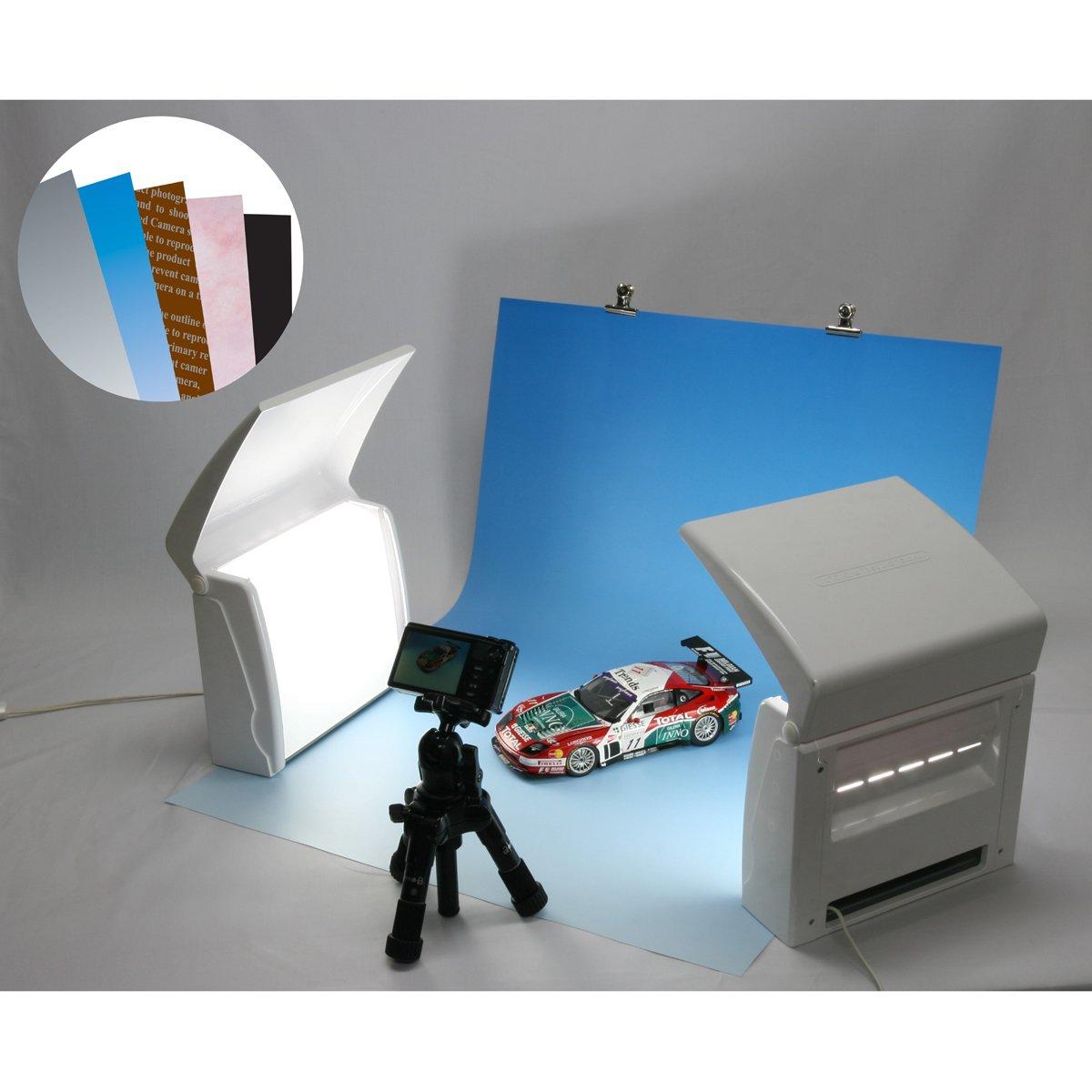 フォトラ PHOTOLA 商品撮影用機材 背景紙充実セット (日本製) PH004 背景紙充実セット  B00AB64M6Q