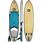 ISLE Explorer (2019 Model) Inflatable Stand Up Paddle Board & iSUP Bundle Accessory Pack — Durable, Lightweight with Stable W