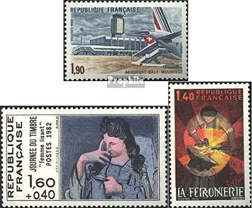 Prophila Collection Francia Michel.-No..: 2325,2327,2328 (Completa.edición.) 1982 Aeropuerto, filatelia, Arte (Sellos para los coleccionistas) Aviación: Amazon.es: Juguetes y juegos
