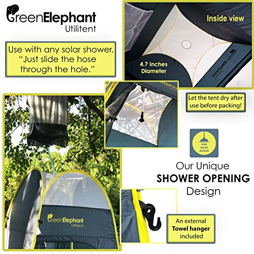 Green Elephant Utilitent Privacy Pop Up Tent u2013 Portable C&ing Biking Toilet Shower Beach and Changing Room Extra ...  sc 1 st  Outdoor Store Online & Elephant Utilitent Privacy Pop Up Tent u2013 Portable Camping Biking ...