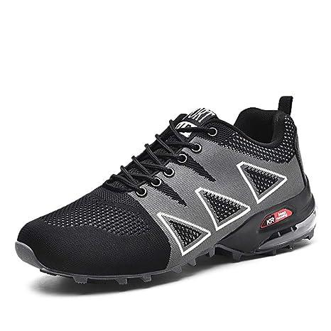 Willsky Zapatos de Senderismo para Hombres, Cojines de Aire ...