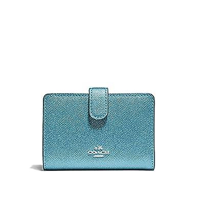 fec883b0 Coach Medium Corner Zip Wallet In Crossgrain Leather (One Size ...