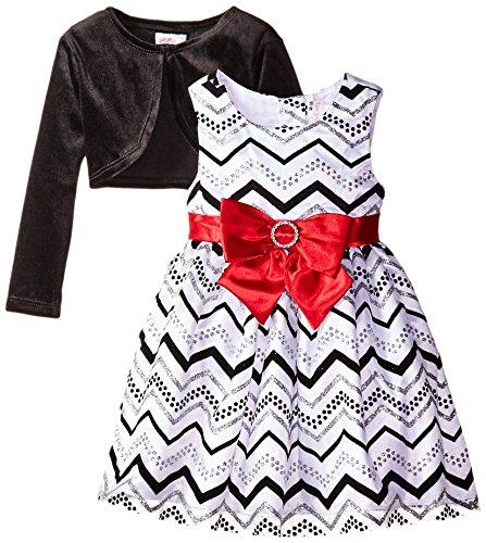 Black Velour Holiday Dress - 4