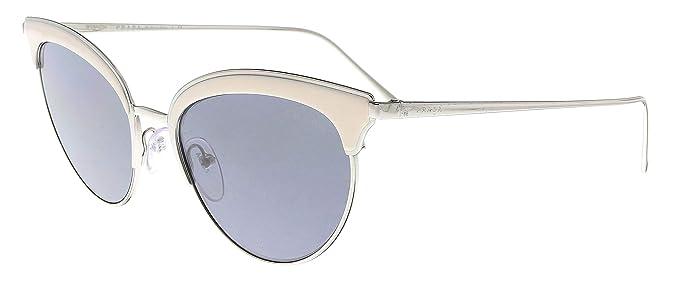 Prada 0PR 60VS Gafas de sol, Silver/Ivory, 54 para Mujer ...