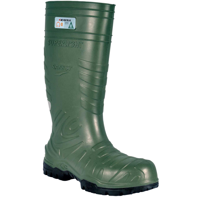 Cofra 00060-CU9.W12 Safest EH PR Safety Boots, 12, Dark Green