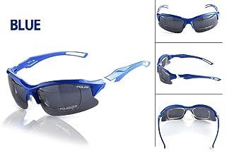 HUWQX Montar vidrios polarizado gafas de hombres y mujeres de miope a prueba de viento ,