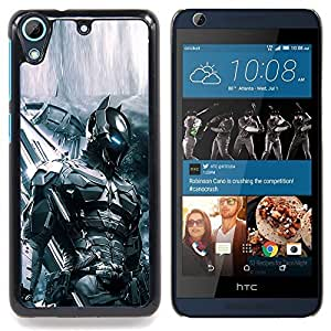 "Qstar Arte & diseño plástico duro Fundas Cover Cubre Hard Case Cover para HTC Desire 626 (Future Soldier Tech Bat"")"