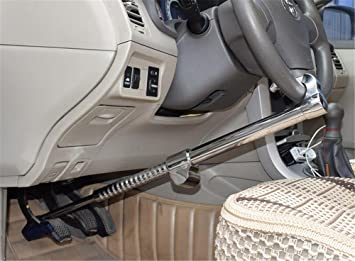 Auto Lenkradschloss Schwerlast Anti-Diebstahl Universal Fahrzeugsicherung Lock Baseballschl/äger