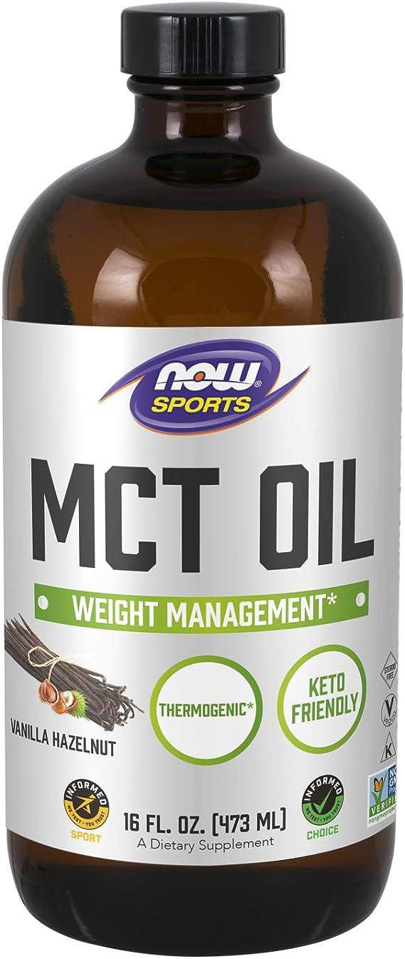 MCT Oil (473ml) - Now Foods: Amazon.com.br: Saúde e Cuidados Pessoais