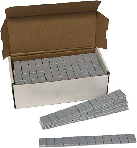 1 Box of Steel 1//4 oz Stick On Wheel Weights Comes With 576 pcs
