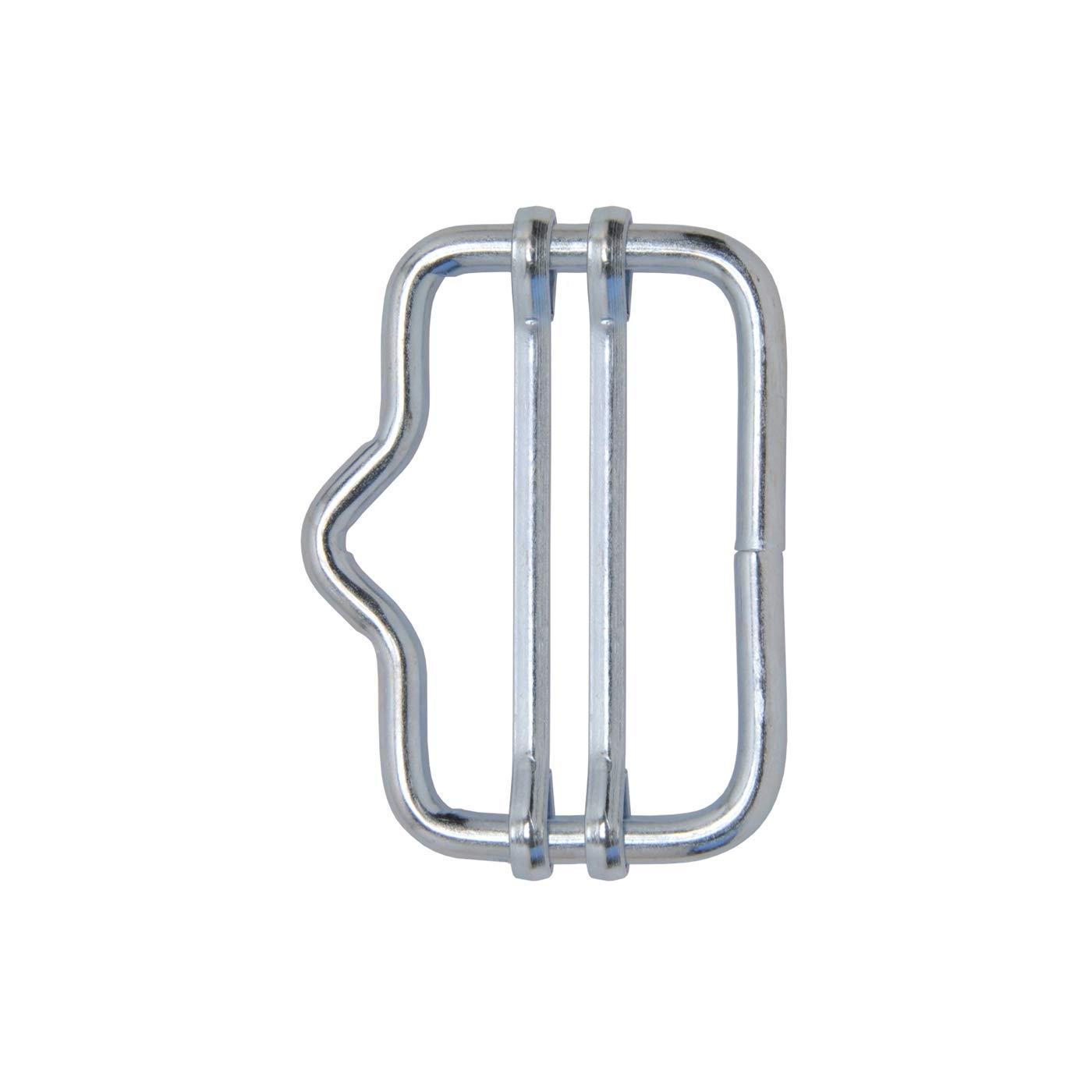 VOSS.farming 5x Band-Verbinder bis 40mm (mit Nase) Weidezaun