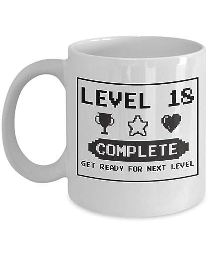 Amazon Happy 18th Birthday Mug Gaming Geek 1999