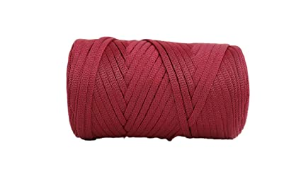 Amazon com: Glossy Tape Yarn 110 Yards/Bulky Yarn/Fast Track/Crochet